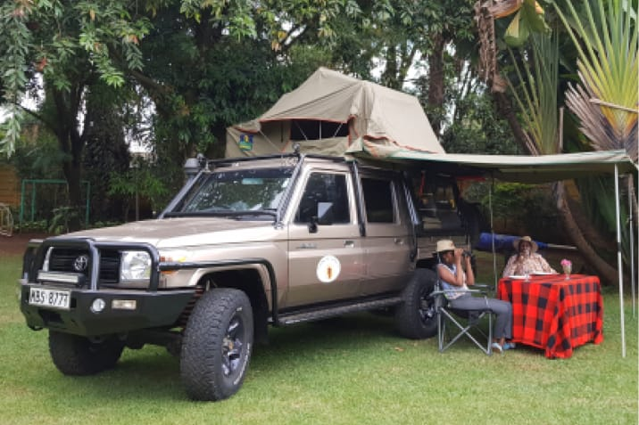 Luxury Roof Top Camper & Roof Top Camping